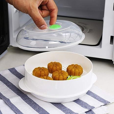 Vaporera para microondas de plástico de grado alimenticio ...