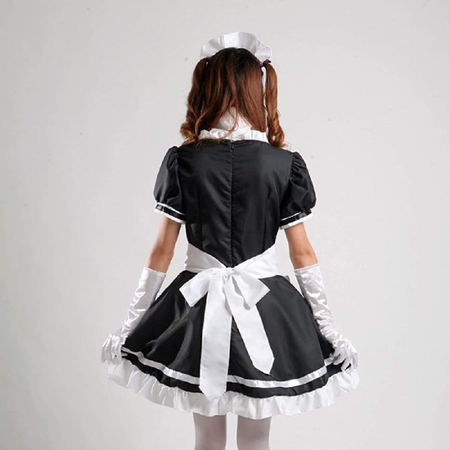 White apron fancy dress - Amazon Com Coconeen Women S Anime Cosplay French Apron Maid Fancy Dress Costume Clothing