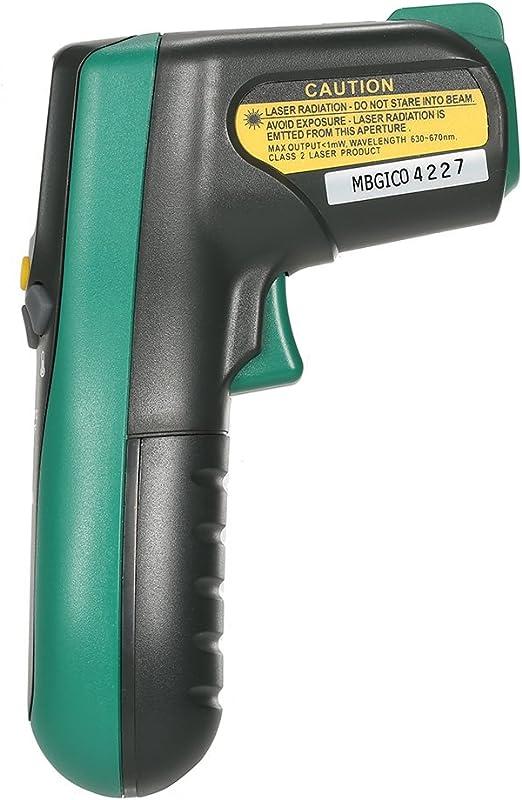 Term/ómetro de laser Sin contacto de infrarrojos 20 ℃ ~ 300 ℃ 572F MASTECH MS6520A