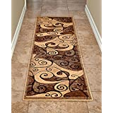 Quality Contemporary Carpet Runners by Cosy House - Best Runner Rug for Hallways, Corridor, Lobby Area, and Stairs - Imported Durable Polypropylene Material - Easy Care (Gallery Berber - 23, 2' X 7')
