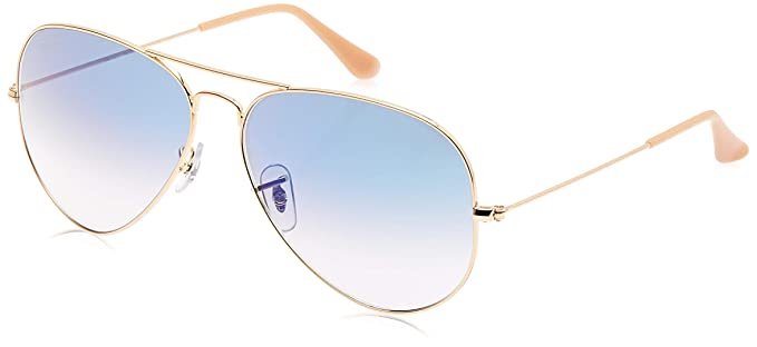 Ray-Ban - Gafas de sol Aviador 0rb3025 Aviator Large Metal, Gold (001/3F 001/3F)