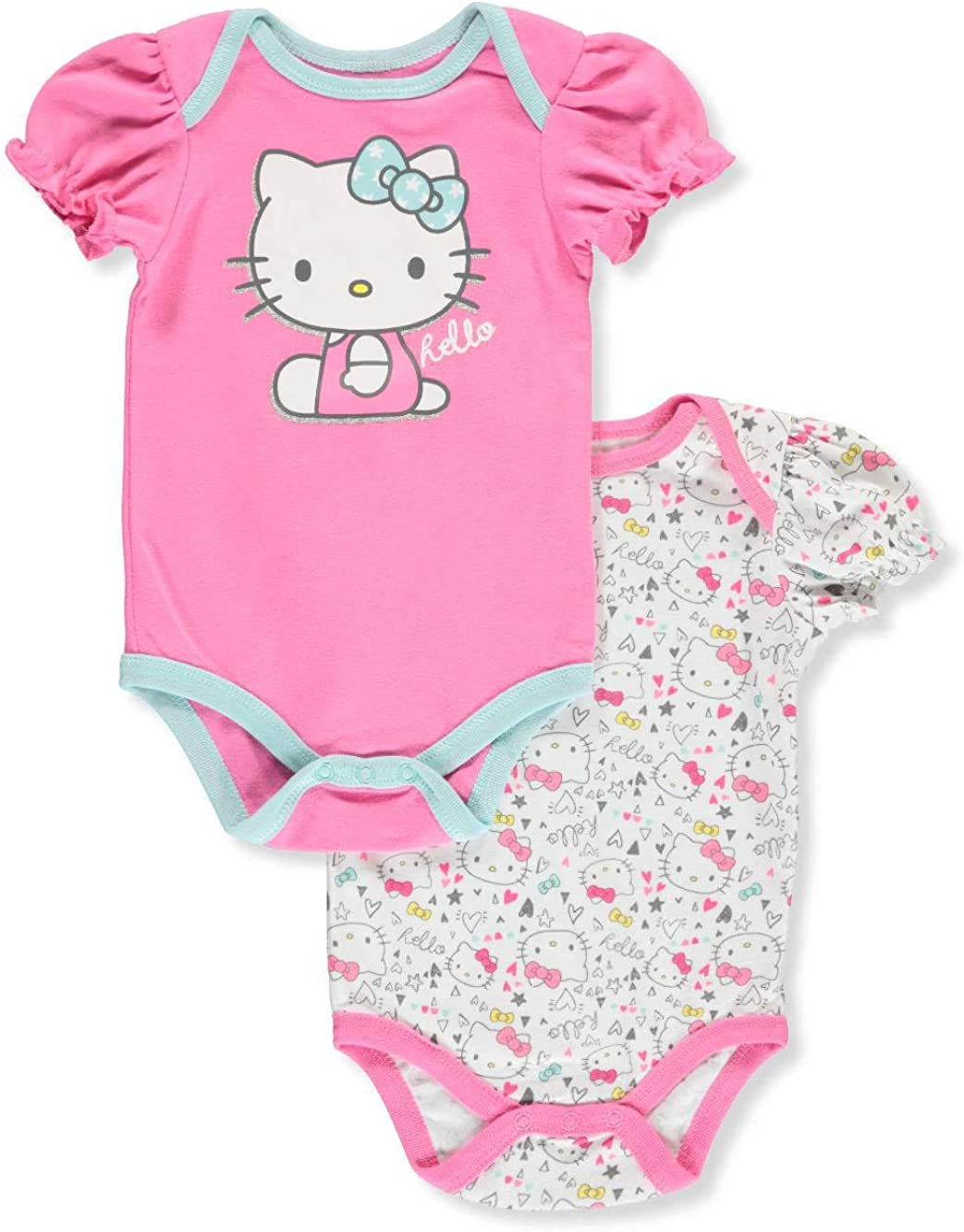 Hello Kitty - Body para niña (2 Unidades) - Multi - 3-6 Meses ...