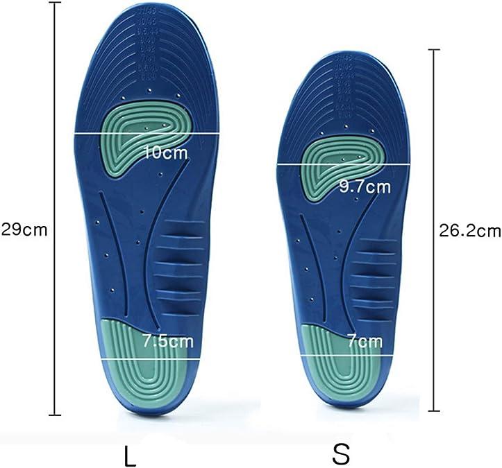 SZSMART Sport Semelles, Semelles de Chaussures Sport Comfort Absorbantes Chocs pour Homme et Femme Cuttable, Respirant Anti Odeur, Soulagement de
