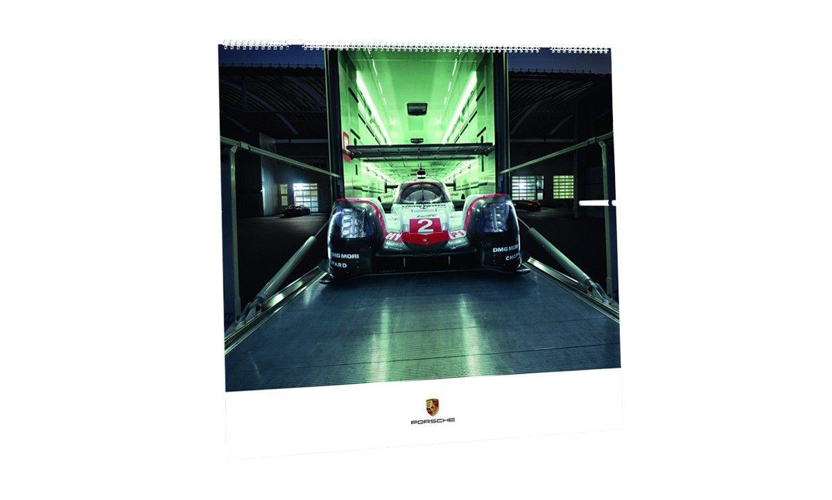 Original Porsche Kalender Wandkalender 2018 Race Lab Neulimitiert