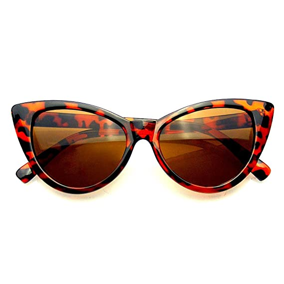 Fashion Classic Vintage Eyewear Cat Eye Designer Shades Frame Sunglasses