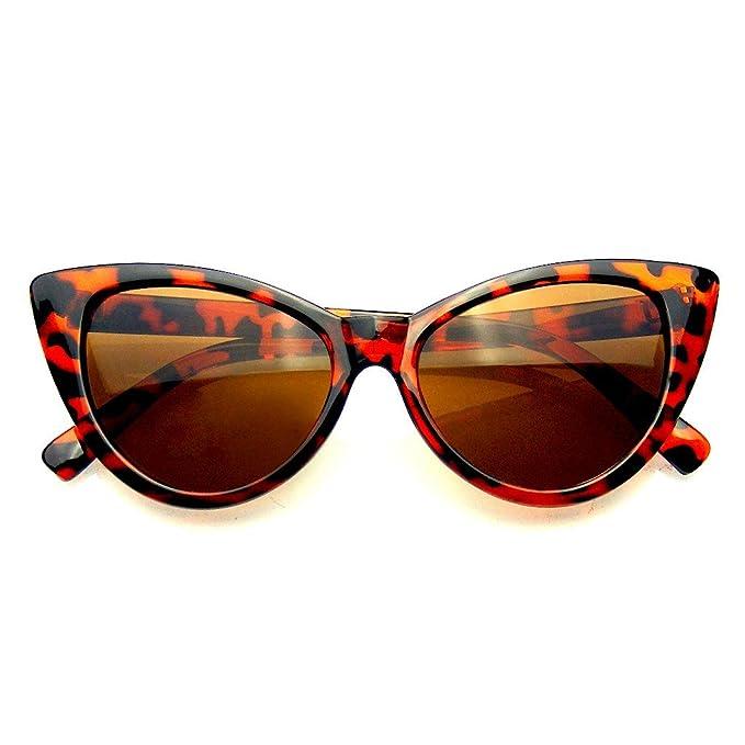 vendita calda online 147f8 a82bc Emblem Eyewear - Punta Womens Moda Punta Calda Vintage Occhiali da Sole  Occhi di Gatto