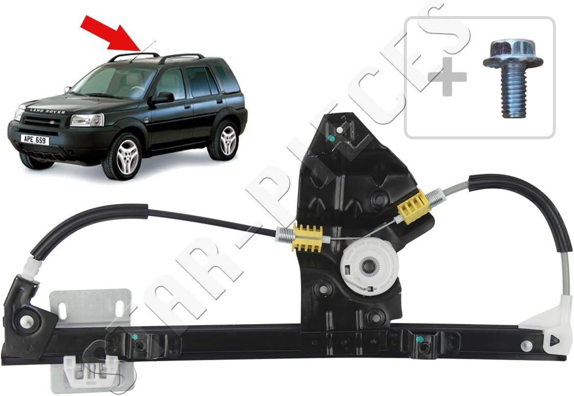 STARKIT PERFORMANCE Elevalunas el/éctrico trasero izquierdo con motor para Land Rover Freelander de 1998 a 2006.