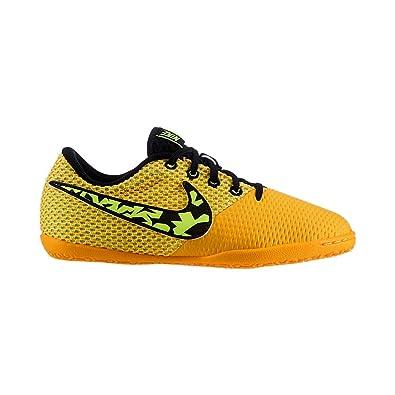 fe1319bdc Nike Boys' Futsal Shoes Orange Laser Orange/Volt/Black/White: Amazon ...