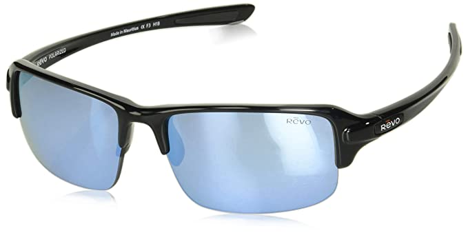 2bd140acd6 Image Unavailable. Image not available for. Color  Revo Re 4041x Abyss  Polarized Sport Sunglasses ...