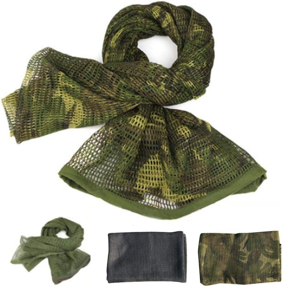 Voile pour Hommes et Femmes Voile Tactique pour Le Voile Bandeau Militaire Polyvalent pour Visage Magnificent Blossomer -Home /écharpe de Camouflage /écharpe en Filet