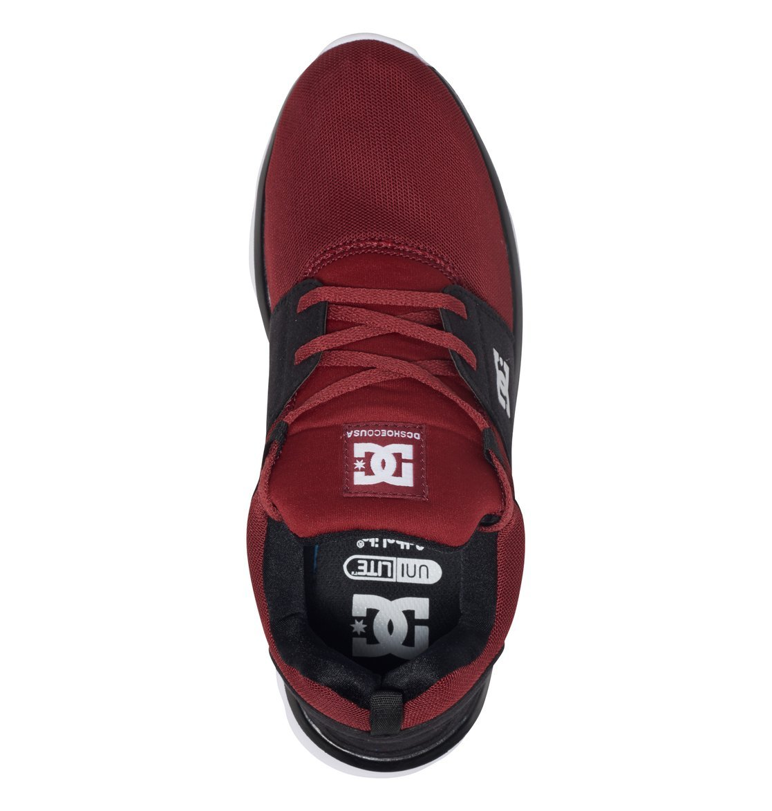 DC Shoes Heathrow, Sneakers Chili Basses Homme Rouge - Chili ... 6d98df6c0d6