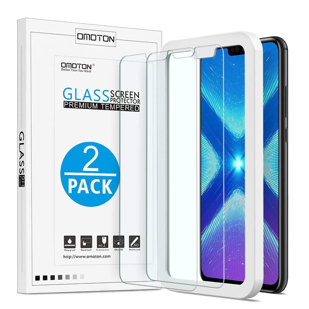 Vidrio Templado Para Huawei Honor 8x Omoton [2un.]