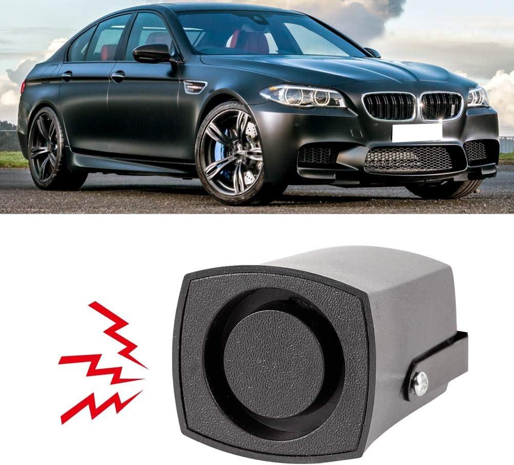 Qiilu Buzzer Reverse,Universal 12V 115db Car Reversing Alarm Back Up Horn Beeper Buzzer Black