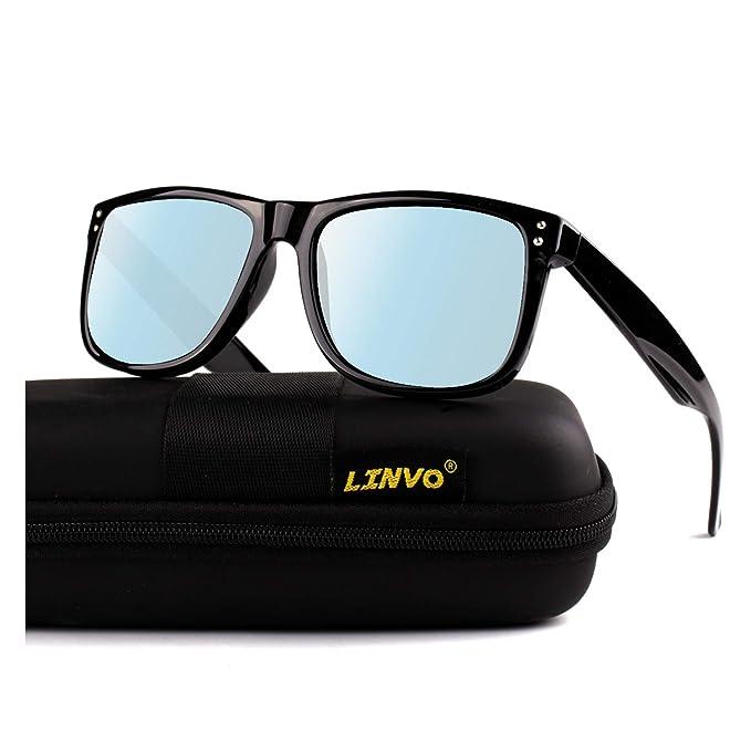 Amazon.com: Lovo Premium TR90 - Gafas de sol polarizadas ...