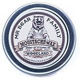 Mr. Bear Family Moustache Wax - Woodland 30ml