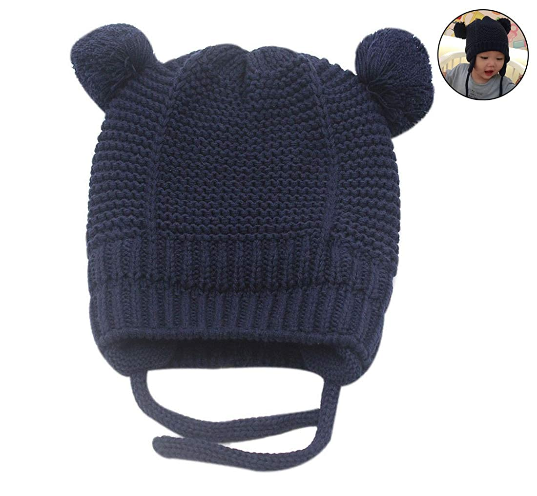 Amazon Rarity Us Unisex Toddler Soft Knit Hat Warm Baby Knit