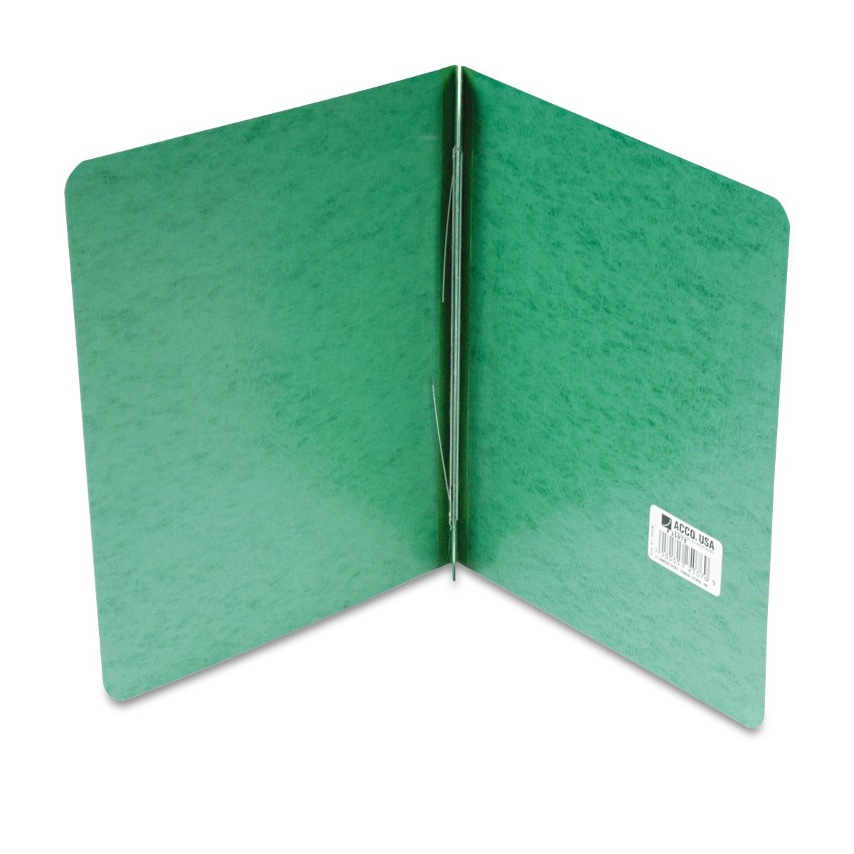 ACCO PRESSTEX Report Cover, Side Bound, Tyvek Reinforced Hinge, 8.5 Inch Centers, 3 Inch Capacity, Letter Size, Dark Green (A7025076A) ACCO Brands