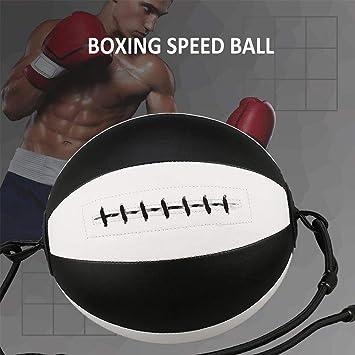 Motto.h - Balón de Boxeo Doble de Piel para Fitness, Pelota de ...