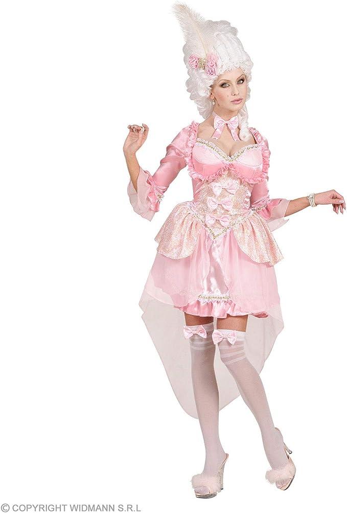 Disfraz de baronesa rosa mujer - M: Amazon.es: Ropa y accesorios