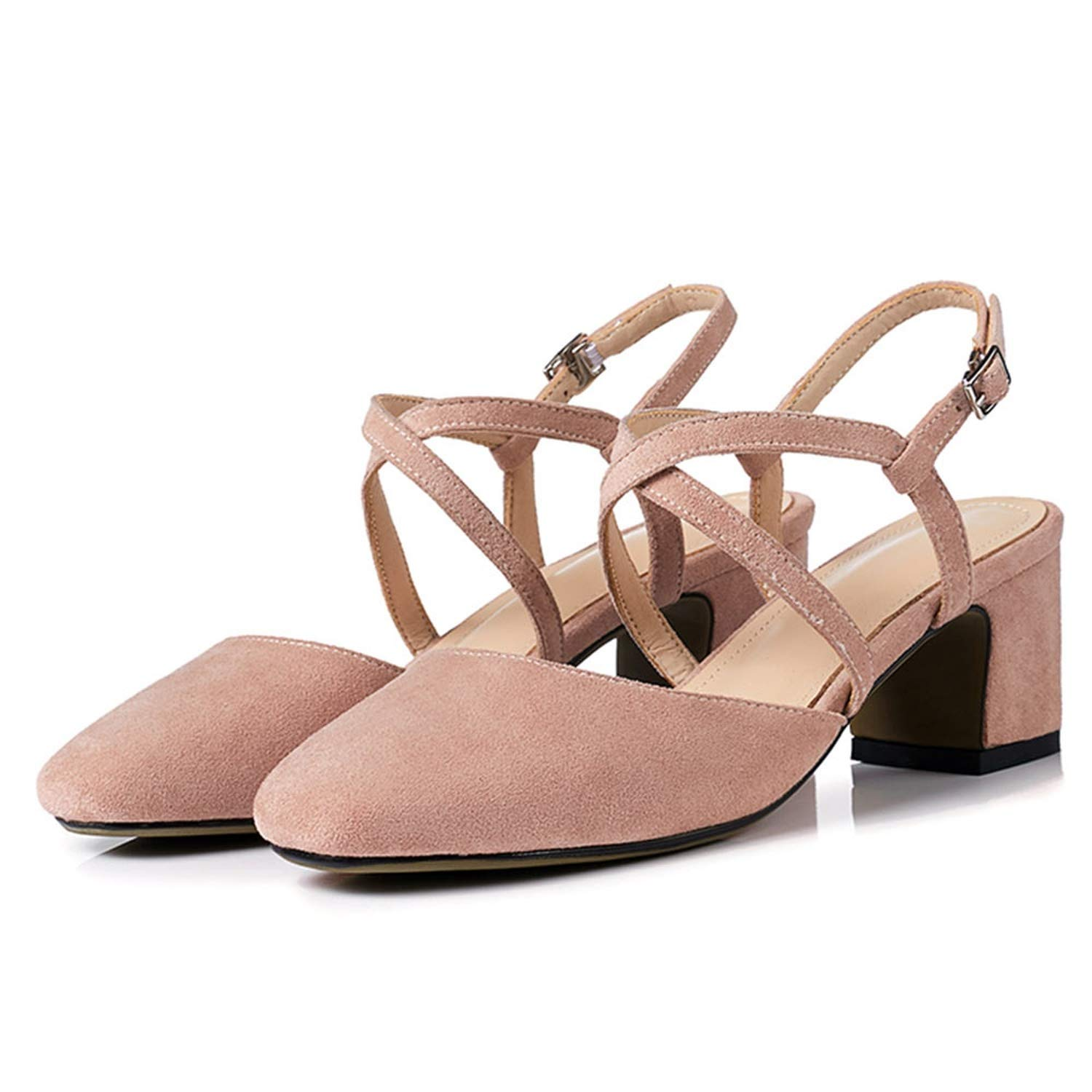3-202 Lotus Pink shoes Cover Square Toe Sexy Slingback Summer shoes for Women Sandal