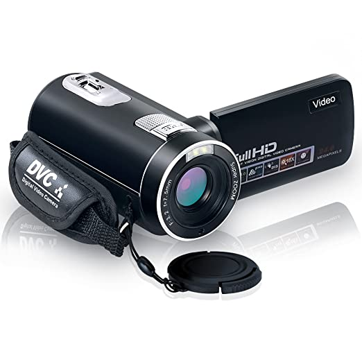 "14 opinioni per videocamera full hd 1080p fotocamera digitale 24.0mp 18% zoom digitale 2,7 ""lcd"