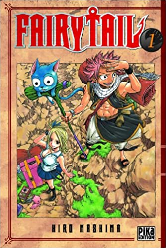 Fairy Tail Tome 1 Hiro Mashima 9782845999145 Amazon Com