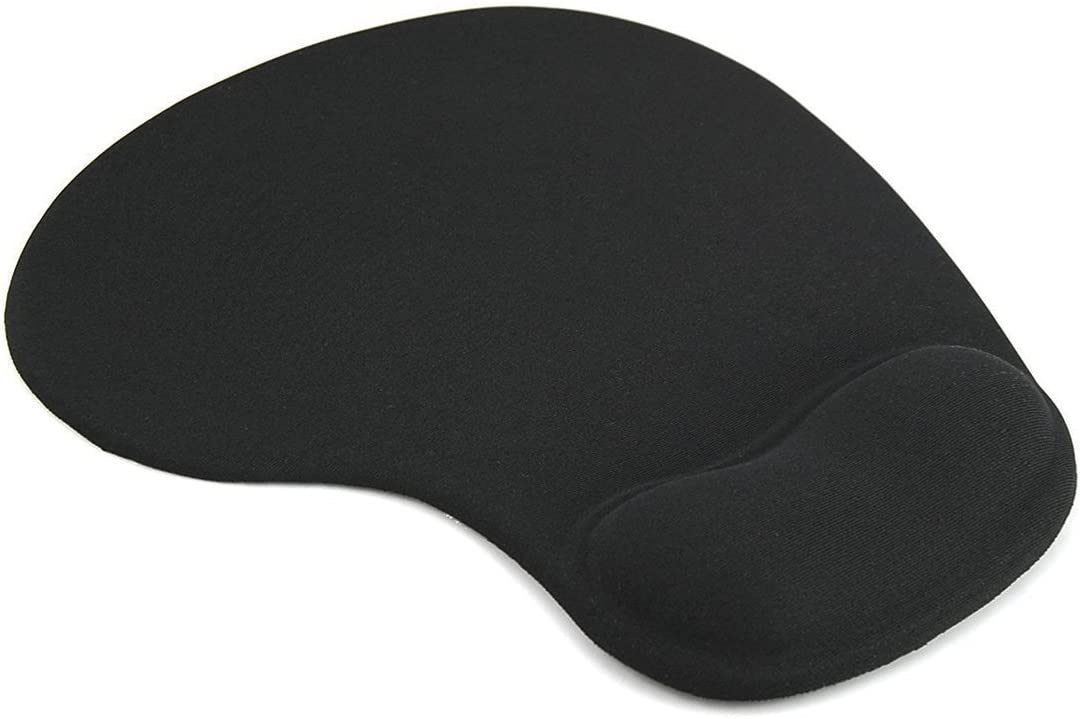 GIM Mouse Pad with Wrist Rest Ergonomic Mouse Pad Mat Gel Support Non Slip Rubber Base Mouse Pad for Laptop, Computer, Gaming, Office
