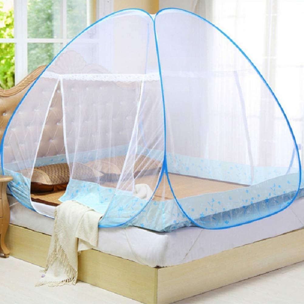 tente dinstallation de tente de camping porte simple pop up r/éseau pour enfants adultes lit simple Etophigh Moustiquaire pliable