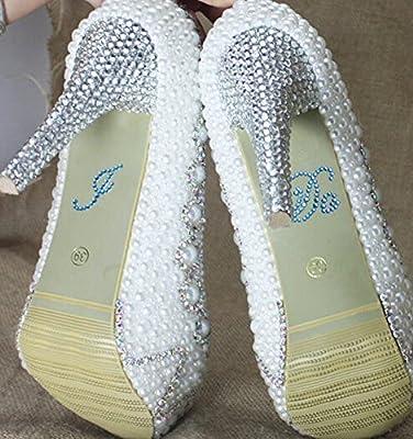 ad151c2413 Wedding Shoe Stickers Crystal Rhinestone Applique Blue Rhinestones Stickers  for Shoes for Bride (I Do, Blue)