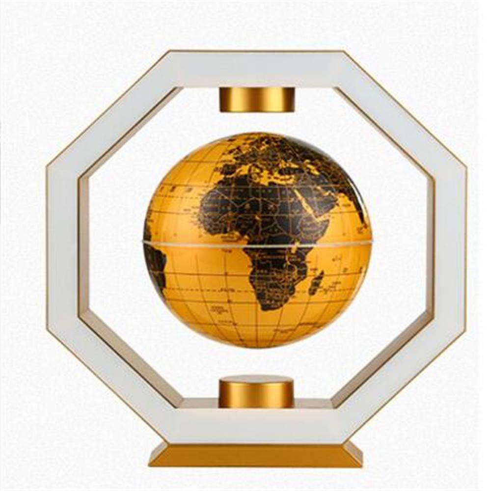 autorización oficial LQQFF útiles Escolares Globe, polígono maglev maglev maglev Arte decoración decoración de la habitación Regalo Creativo 6 Pulgadas (Color : Oro)  el más barato