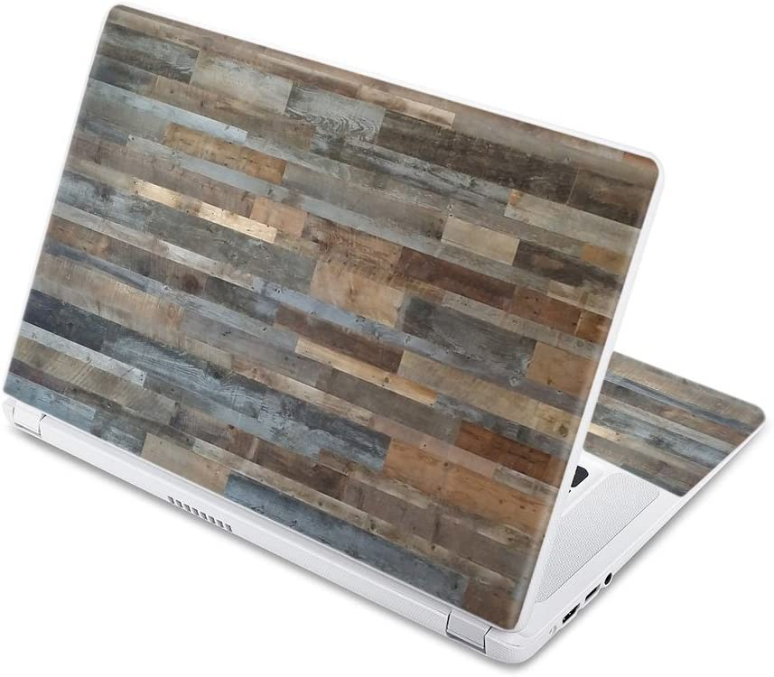 """MightySkins Skin Compatible with Acer Chromebook 15 15.6"""" (2017) - Gray Wood 
