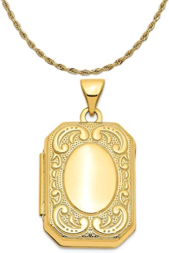 Mireval Sterling Silver Antiqued Crane in Oval Frame Charm on a Sterling Silver Chain Necklace 16-20