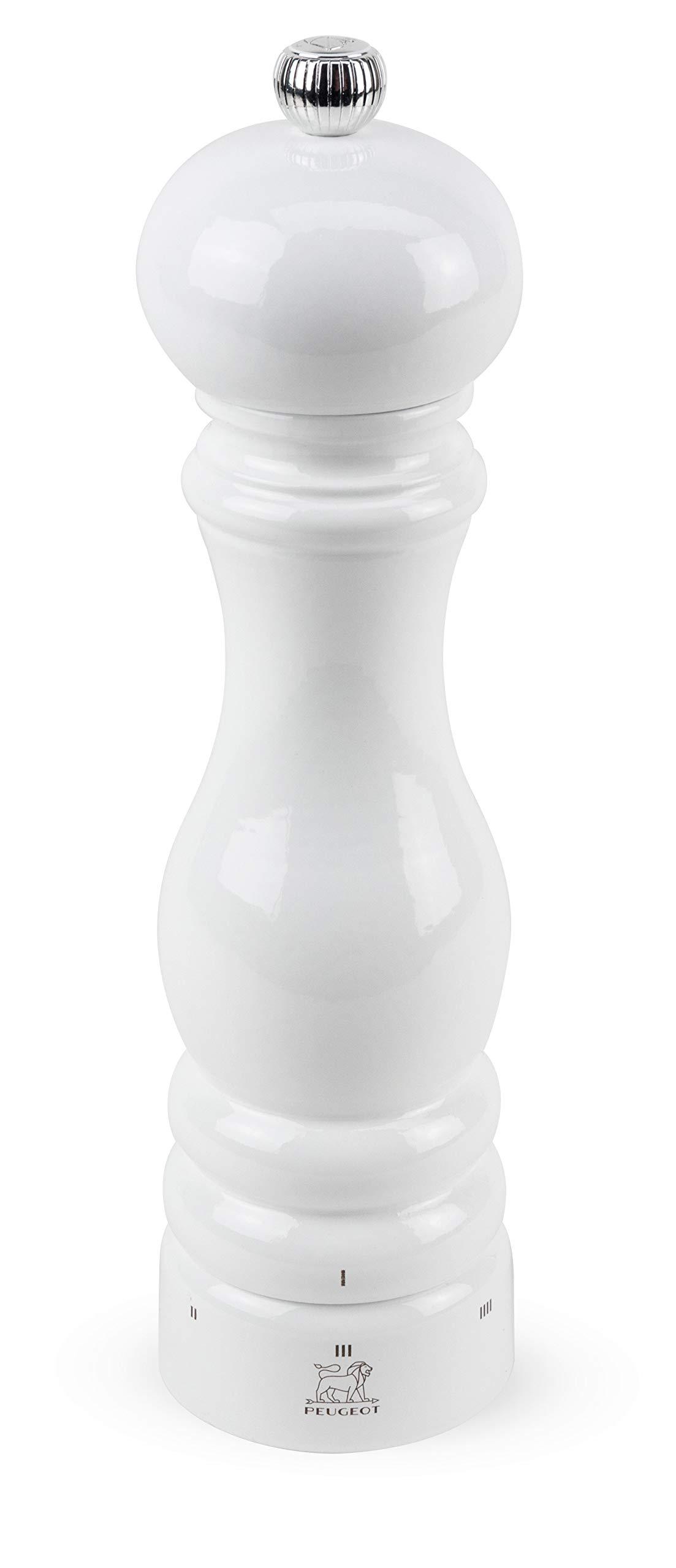 Peugeot Paris u'Select White Lacquer Pepper Mill 23cm/9'' by Peugeot