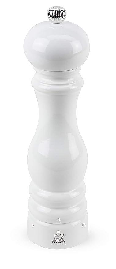 Peugeot Salzmühle PARIS U Select weiß 22 cm Salz Mühle Mahlgrad einstellbar