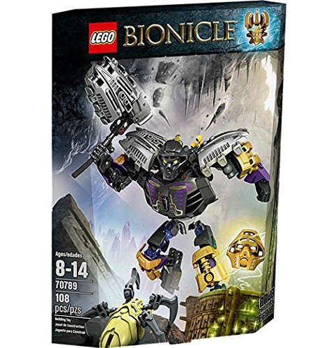 LEGO Bionicle 70789 Onua - Master of Earth Set New In Box Sealed #70789 /ITEM#G839GJ - Bionicle Master Of Water