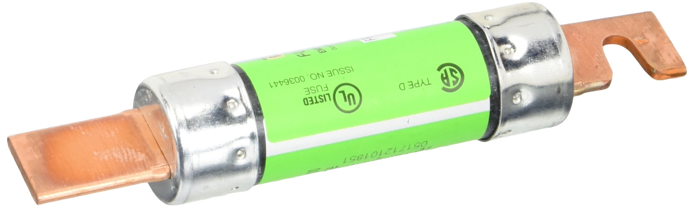 Bussmann FRN-R-100 100 Amp Fusetron Dual Element Time-Delay Current Limiting Fuse Class RK5, 250V UL Listed