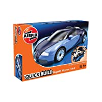 Airfix Quick Build Bugatti Veyron Car Model Kit