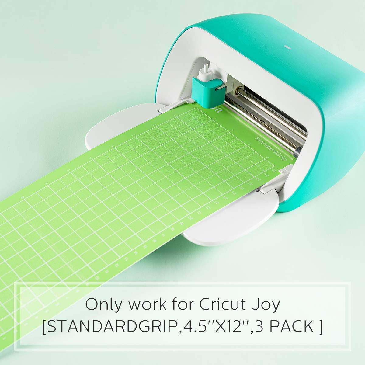 4.5x12 Inch, 3 Pack Joy Mat Adhesive Cutting Mats for Cricut Joy Accessories for Creative DIY Works Diyit Lightgrip Cutting Mat for Cricut Joy