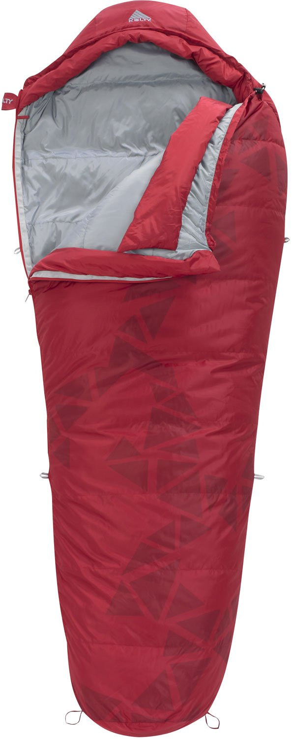 Amazon Kelty Cosmic Down 20 Sleeping Bag Chili Pepper Regular Right Zip Sports Outdoors