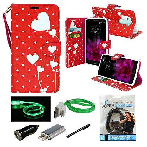 For LG G Flex 2 LS996  - Mstechcorp - Wallet Flip Case Pouch