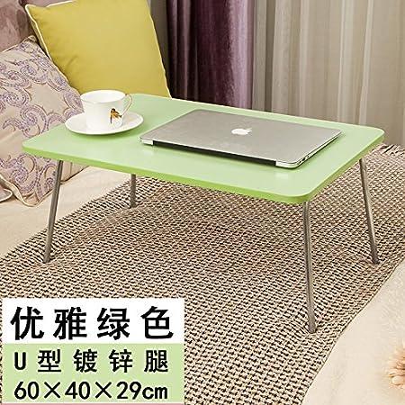 DADAO-Mesa de ordenador portátil, cama con una pequeña mesa ...