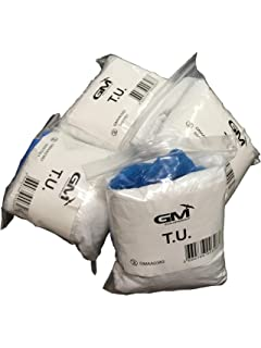 Permite desechable impermeable-Bata, diseño de charlotte, máscara y polainas-(s