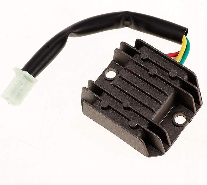MagiDeal 12V Motorcycle Regulator Rectifier Parts for Honda TRX350 350 FOURTRAX 4x4 TRX350D 1986-1989