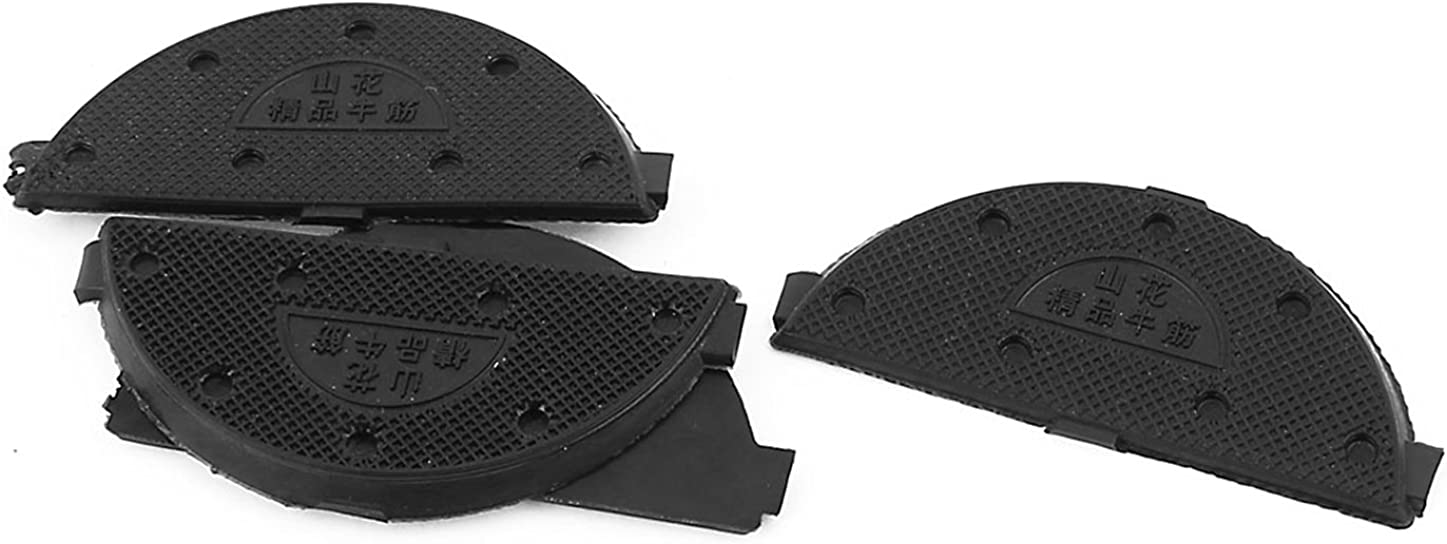 uxcell Rubber Antislip Shoes Sole Heel