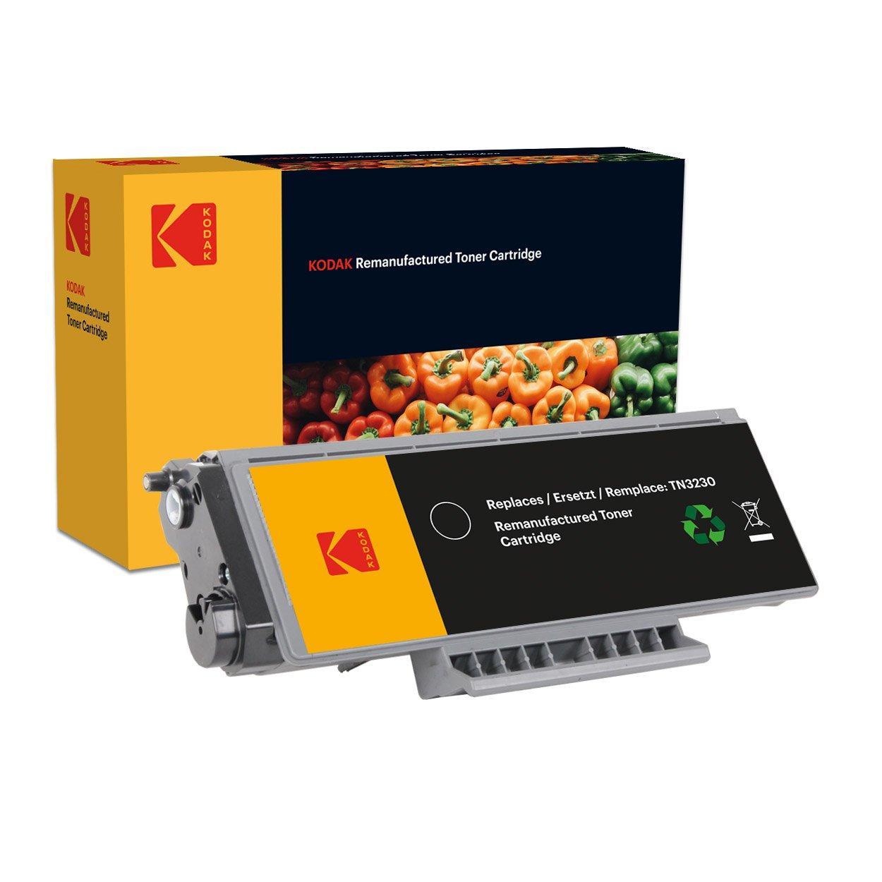 Kodak Supplies 185B323001 Cartucho de tóner 3000 Lados para negro adecuado para Lados Brother HL5340 compatible también TN3230 94e6d6