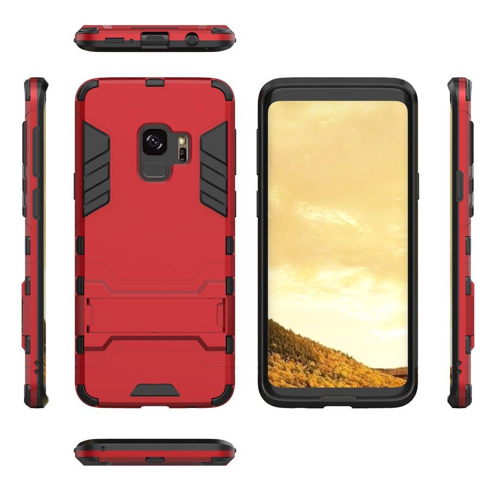 Cover Samsung Galaxy S9, LTWS Custodia Samsung Galaxy S9 TPU Silicone Case Custodia Shock-Absorption Bumper e Anti-Scratch Back per Samsung Galaxy S9 -Black