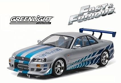 2 Fast 2 Furious 1999 Nissan Skyline GT R (R34), Silver W