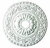 Designer's Edge Millwork 24-inch Round Exquisite Ceiling Medallion