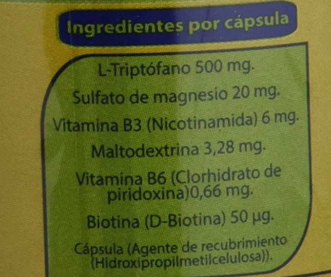 L- Triptofano 635 Ze - 655 Mg. Zeus, 90 Cápsulas: Amazon.es: Salud y cuidado personal