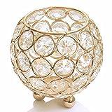 Gold Votive crystal Crystal Bowl Candelabra Candle Holders Tea light holder home decorative wedding party decoration